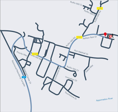 Anfahrt South Chesterfield 01.jpg