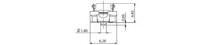 Colibri Plug 5mm dimensions