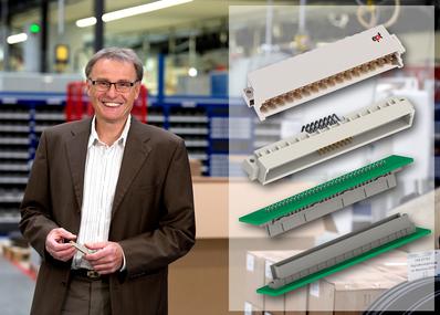 DIN 41612 / IEC 60603-2 Leiterplattensteckverbinder